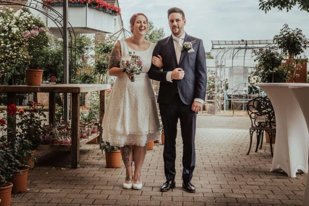 Hochzeit im Haus der Rosen in Stuttgart Fellbach - Kai Schwab Hochzeitsfotograf aus Ludwigsburg